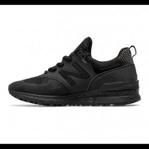 New Balance WS574 Black Sport Shoe size 8